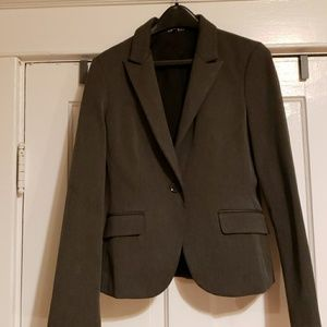 Express EUC Gray Blazer Size 10